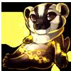 967-magic-american-badger-mustelid-plush