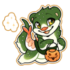 3915-magic-trick-or-treat-otter-sticker.