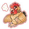 4351-magic-sussex-buff-hen-sticker.png