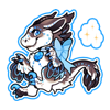 5399-magic-blue-topaz-gem-raptor-sticker