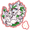 6578-magic-decorated-snow-leodon-sticker
