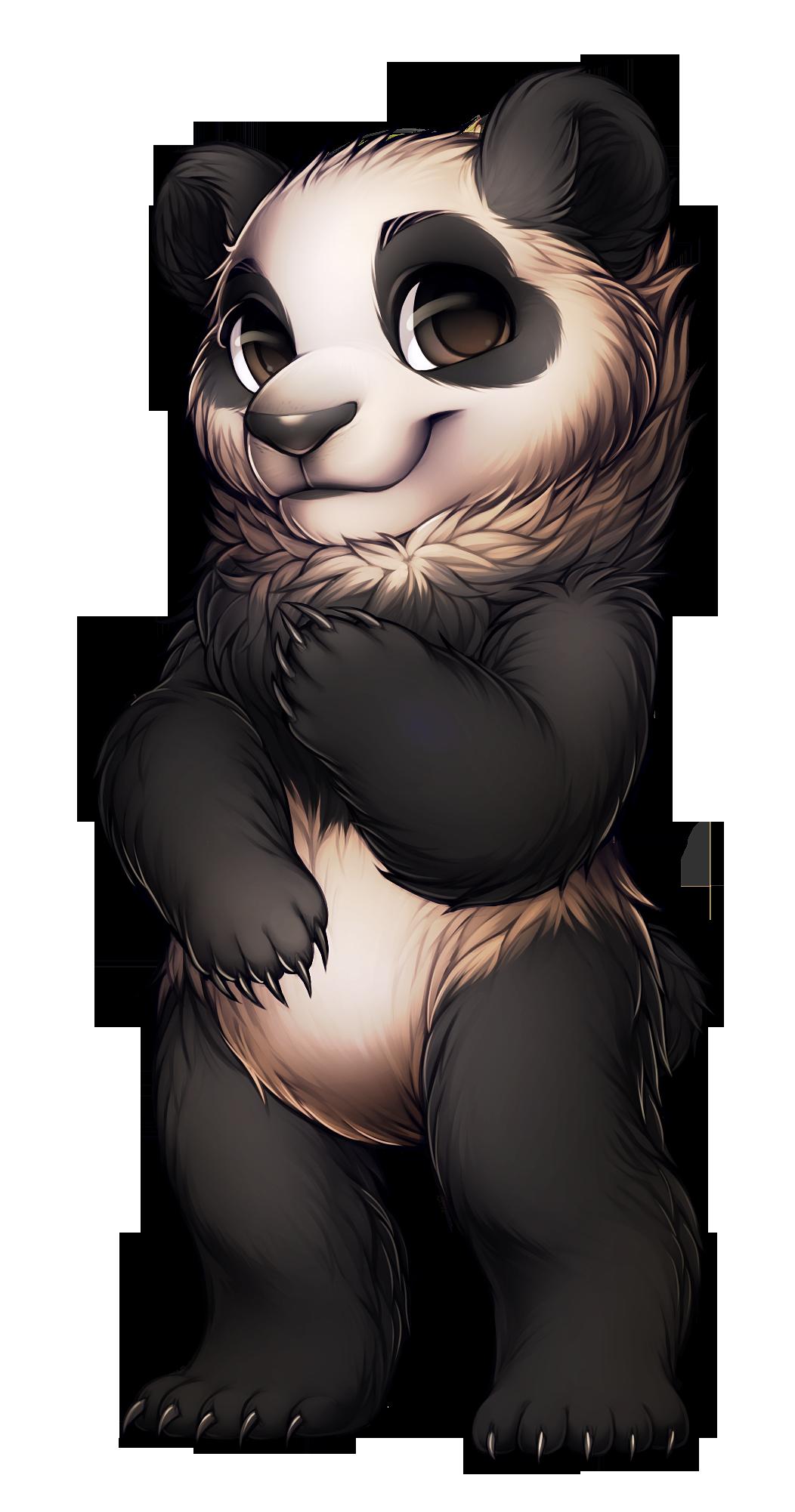 фурри панды