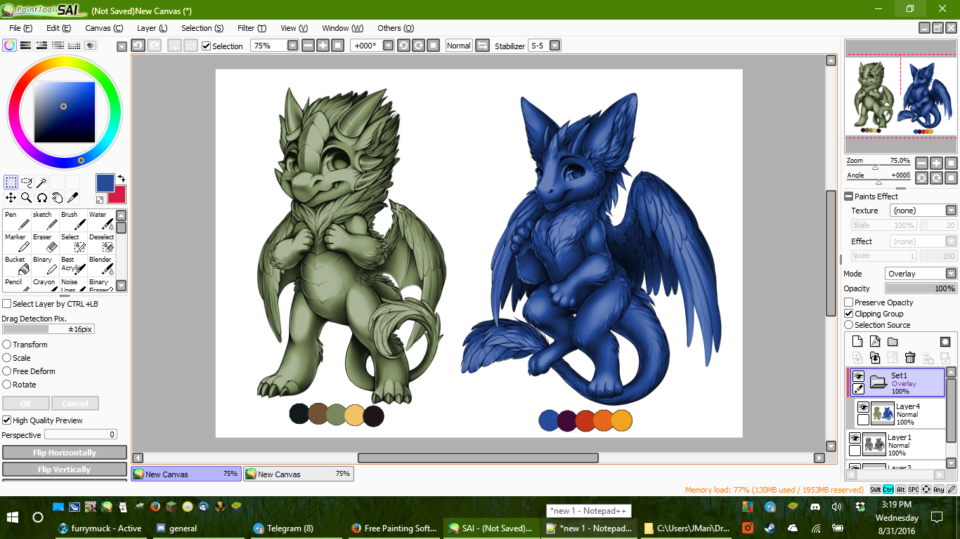 Coloring Tutorial - Knowledgebase - Furvilla